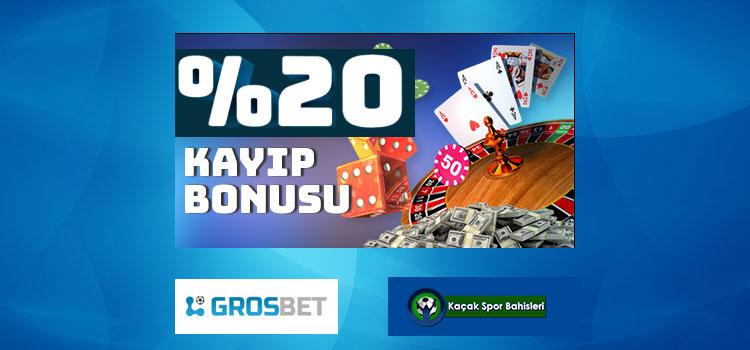 Grosbet Canlı Casino Kayıp Bonusu